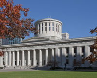 Construction de capitol d'état de l'Ohio Photo libre de droits