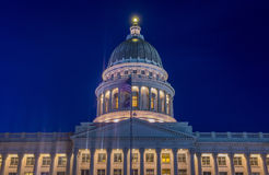Construction de capitol d'état de l'Utah Photographie stock