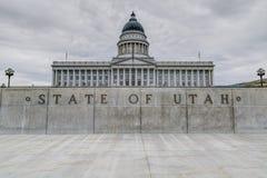 Construction de capitol d'état de l'Utah image libre de droits