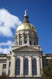 Construction de capitol d'état de la Géorgie à Atlanta, la Géorgie. image stock