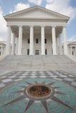 Construction de capitol d'état de la Virginie Photos libres de droits