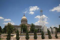 Construction de capitol d'état de Ville d'Oklahoma Photographie stock