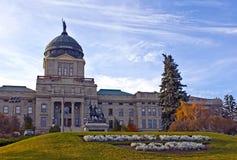 Construction de capitol d'état du Montana Photographie stock libre de droits