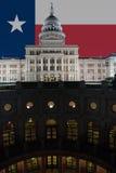 Construction de capitol d'état du Texas à Austin Images libres de droits