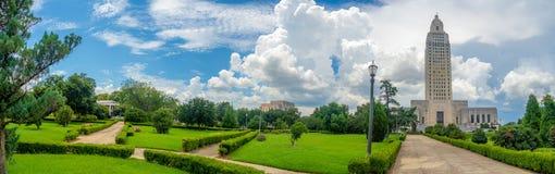 Construction de capitol d'état de la Louisiane photos stock