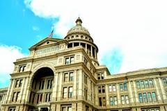 Construction de capitol d'?tat du Texas photographie stock libre de droits