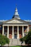 Construction de capitol de Chambre d'état du Maryland à Annapolis Images libres de droits