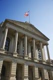 Construction de capitol de la Géorgie image libre de droits