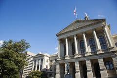Construction de capitol de la Géorgie photographie stock libre de droits
