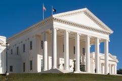 Construction de capitol de Richmond Images libres de droits