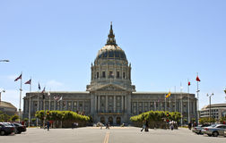 Construction de capitol de San Francisco Photo stock