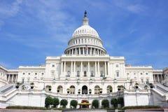 Construction de capitol des Etats-Unis Photos stock