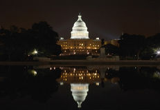 Construction de capitol des Etats-Unis Images libres de droits