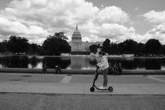 Construction de capitol des Etats-Unis dans le Washington DC images stock