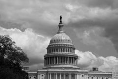 Construction de capitol des Etats-Unis dans le Washington DC photo libre de droits