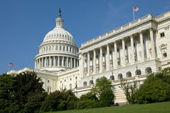 Construction de capitol des USA Image stock