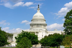 Construction de capitol des USA - Washington DC, Etats-Unis Image stock