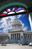 Construction de capitol national à La Havane, Cuba. Photo stock