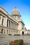 Construction de Capitolio à vieille La Havane Image stock