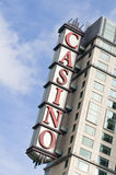 Construction de casino Photos libres de droits