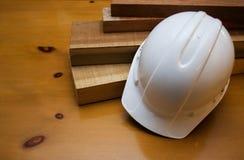 Construction de casque antichoc Image libre de droits