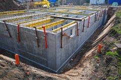 Construction de cave image stock