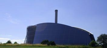 Construction de centrale électrique Photo libre de droits