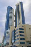 Construction de centre d'affaires Image libre de droits