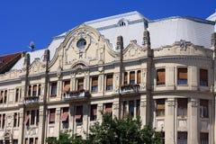 Construction de centre de la ville de Timisoara Photo libre de droits