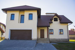 Villa moderne de luxe avec la v randa australie occidentale photo stock im - Construction chalet montagne ...
