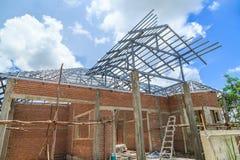 Construction de Chambre Photo stock