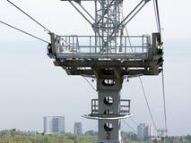 Construction de chemin de fer de câble Photographie stock