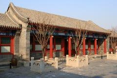 Construction de chinois traditionnel photo stock