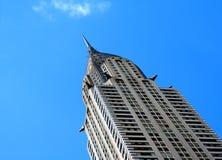 Construction de Chrysler photographie stock libre de droits