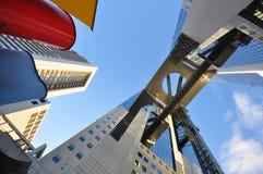 Construction de ciel d'Umeda Image libre de droits