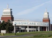 Construction de cinéma d'étalage Photos libres de droits