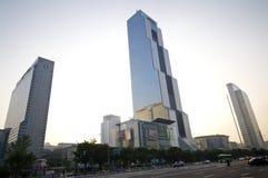 Construction de COEX à Séoul Image libre de droits