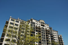 Construction de condominium Image libre de droits