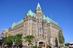 Construction de confédération, Ottawa, Canada Photographie stock libre de droits
