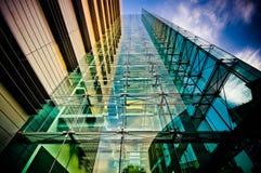 Construction de corporation moderne Image stock