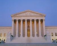 Construction de court suprême Images stock