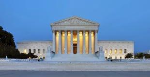 Construction de court suprême des USA photographie stock libre de droits