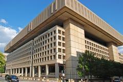 Construction de FBI dans le Washington DC Photographie stock libre de droits