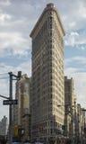 Construction de Flatiron Images libres de droits