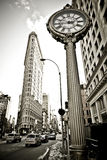 Construction de Flatiron dans NYC Photographie stock libre de droits