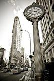 Construction de Flatiron dans NYC Photographie stock libre de droits