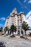Construction de foie, Liverpool Photographie stock libre de droits