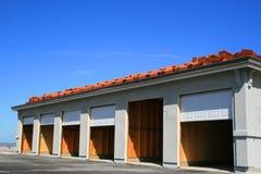 Construction de garage en construction images stock