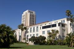 Construction de gestion de ville et de comté de San Diego Photos libres de droits