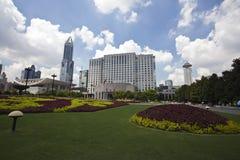 Construction de gouvernement municipal de Changhaï image stock